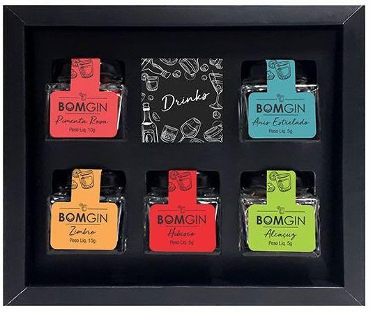 Bom Spice Kit Especiarias para Drinks com Gin