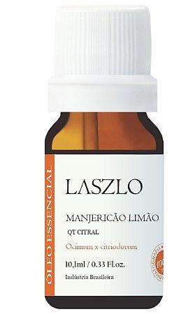 Laszlo Óleo Essencial de Manjericão Limão QT Citral GT EUA 10,1ml