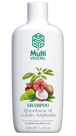 Multi Vegetal Shampoo de Coco 240ml