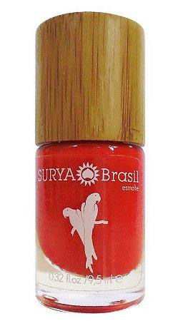 Surya Brasil Exotic Animals Esmalte 7 Free Arara Vermelha 9,5ml