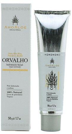 AhoAloe Hidratante Facial Acetinado Orvalho 50g