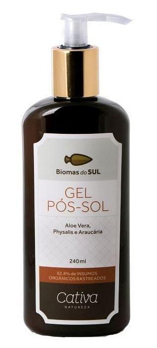 Cativa Natureza Biomas do Sul Gel Pós-Sol 240ml