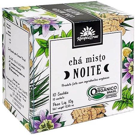 Kampo de Ervas Chá Misto Noite Orgânico Caixa 10 Sachês
