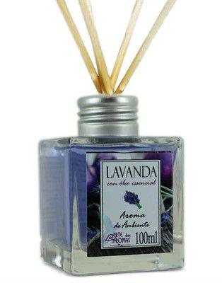 Arte dos Aromas Difusor Aroma Ambiente Lavanda com Varetas 100ml