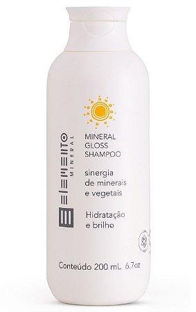 Elemento Mineral Shampoo Gloss Hidratação e Brilho 200ml