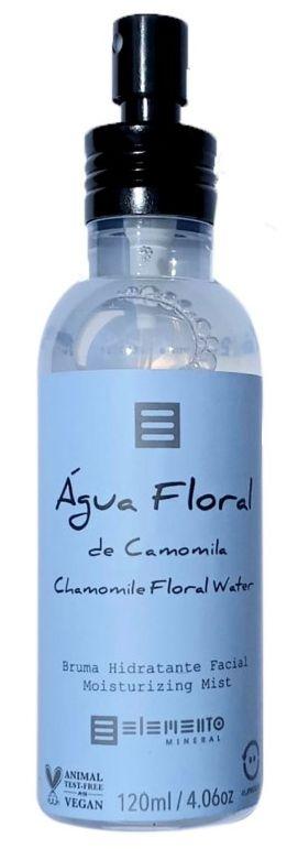 Elemento Mineral Água Floral de Camomila - Bruma Hidratante Facial 120ml