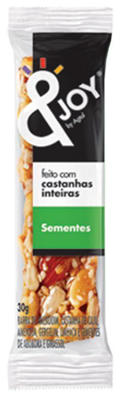 &Joy Barrinha Amendoim, Castanha de Caju, Castanha do Pará, Amêndoas e Sementes