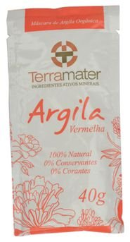 Terramater Argila Vermelha 40g