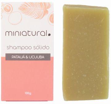Miniatural Shampoo Sólido Patauá e Ucuuba 100g