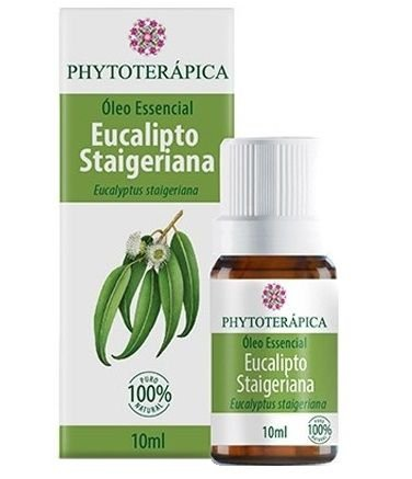 Phytoterápica Óleo Essencial de Eucalipto Staigeriana 10ml