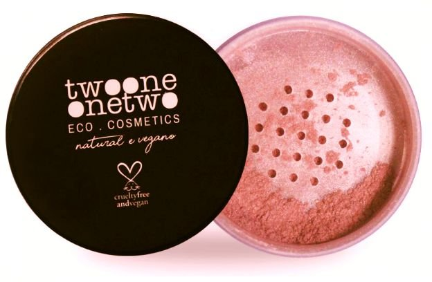 Twoone Onetwo Blush Facial em Pó Light Rose 9g