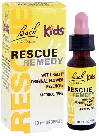 Florais de Bach Rescue Kids Original Sem Álcool 10ml (vence em 10/21)