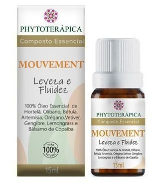 Phytoterápica Composto Essencial Mouvement - Leveza e Fuidez 15ml