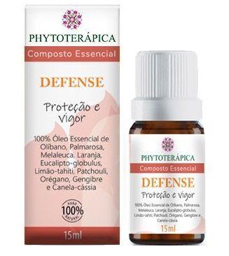 Phytoterápica Composto Essencial Defense - Proteção e Vigor 15ml