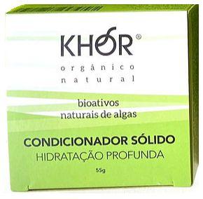 Khor Condicionador Sólido Hidratação Profunda 55g