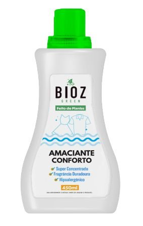 Bioz Green Amaciante Conforto Ecológico 450ml