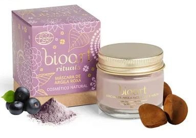 Bioart Máscara Bionutritiva Calmante Argila Roxa e Açaí 30ml
