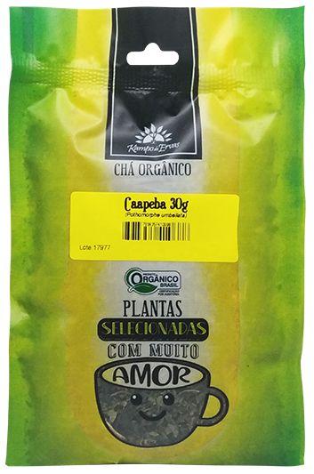 Kampo de Ervas Chá de Caapeba Orgânico Fracionado 30g