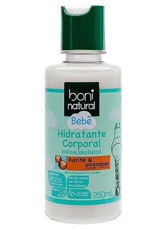 Boni Natural Bebê Hidratante Corporal Karité e Amêndoas 250ml
