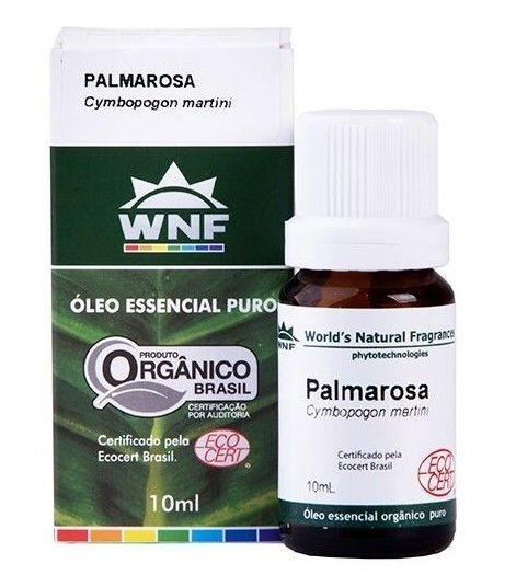 WNF Óleo Essencial de Palmarosa Orgânico 10ml