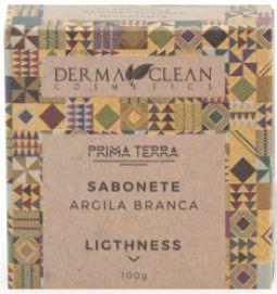 Derma Clean Prima Terra Sabonete Argila Branca - Ligthness 100g