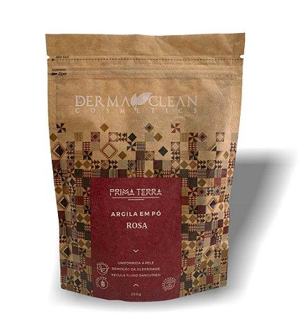 Derma Clean Prima Terra Argila Rosa em Pó 250g