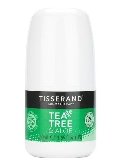 Tisserand Desodorante Natural Tea Tree e Aloe Roll-on 50ml
