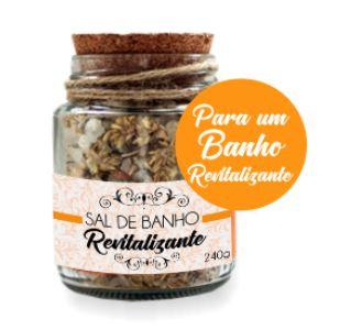 Derma Clean Sais de Banho Revitalizantes com Alecrim, Capim Limão e Menta 240g