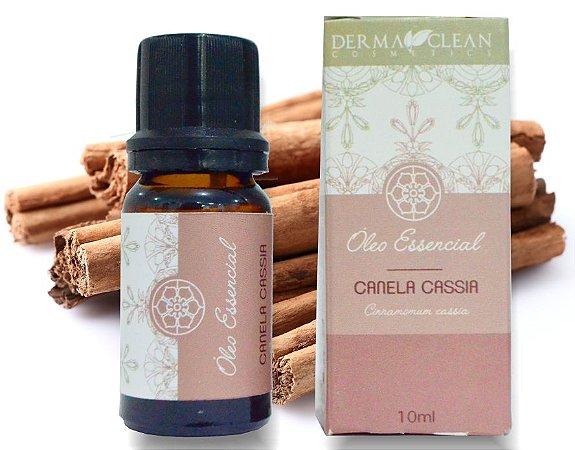 Derma Clean Óleo Essencial de Canela Cássia (Folhas) 10ml