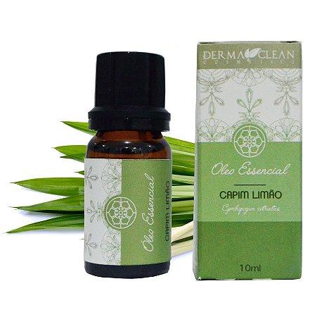 Derma Clean Óleo Essencial de Capim Limão / Lemongrass 10ml