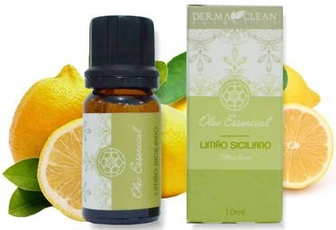 Derma Clean Óleo Essencial de Limão Siciliano 10ml
