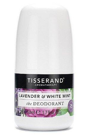 Tisserand Desodorante Natural Lavanda e White Mint Roll-on 50ml