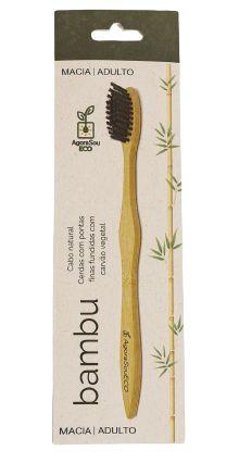 Agora Sou ECO Escova Dental Ecológica de Bambu Adulto 1un