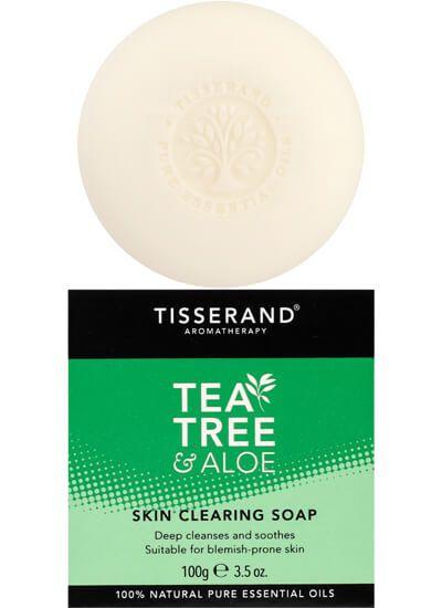 Tisserand Tea Tree Sabonete Facial Limpeza Profunda 100g