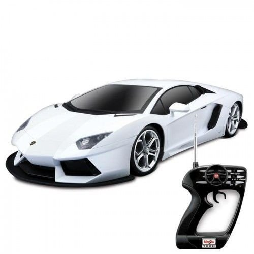 Carro de Controle Remoto Lamborghini Aventador LP 1:10 - 27MHz - Maisto