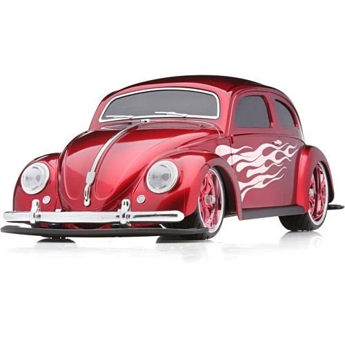 Carro de Controle Remoto Volkswagen Beetle Fusca 1951 Vermelho - 1:10 - 27MHz - Maisto