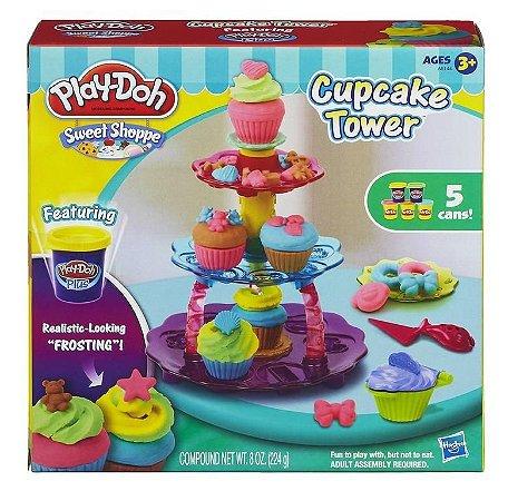 Massinha Play Doh - Torre de Cupcakes - Hasbro