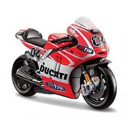 Mini Moto GP Ducati Desmosedici  2013 - Andrea Dovizioso 1:10 Maisto