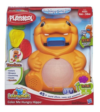 Playskool Hipopótamo Hora do Lanche Learnimals A3208