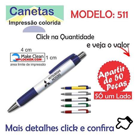 Caneta Plastica Modelo 511