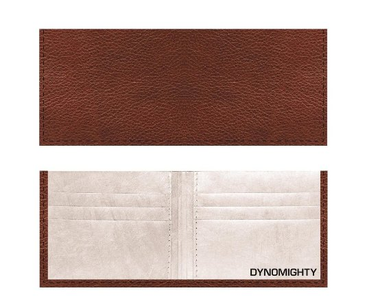 Carteira Mighty Wallet Couro Marrom
