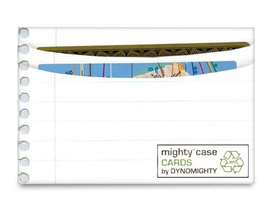 Porta Cartão Mighty Case Folha de Caderno