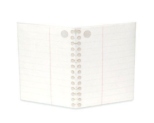 Mini Carteira Mighty Wallet Folha de Caderno