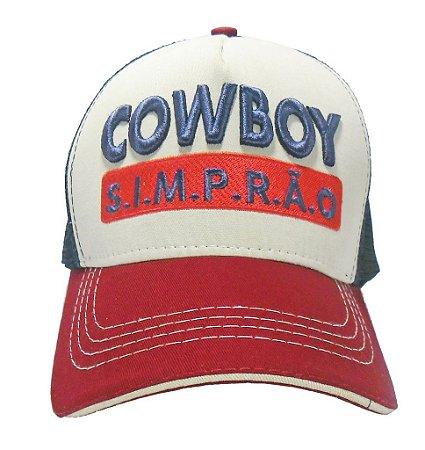 Boné - Cowboy Simprão