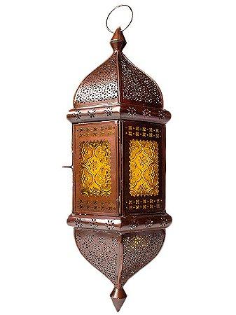 "Lanterna Indiana p/ Velas ""Shanti"" 53cm"