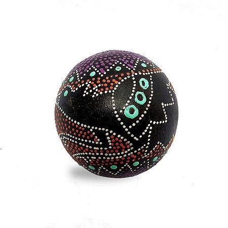 "Bola Decorativa ""Pássaro"" - Arte Bali"