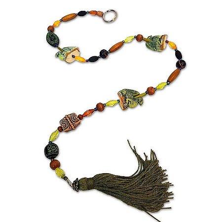 Móbile Tibet Dragão Colorido 70cm