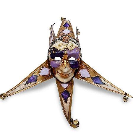 Máscara Veneziana em Papel Machê