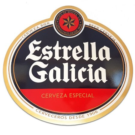 Placa Decorativa Cerveja Estrella Galicia