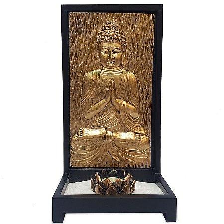 Porta Vela Zen c/ Buda Dourado